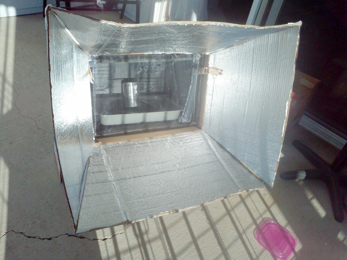 My Solar Oven Experiment